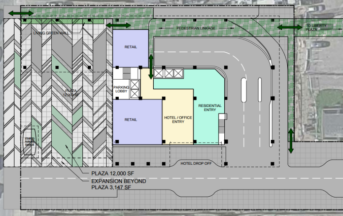 The Collective Site Plan